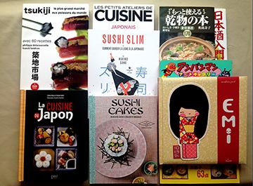 "Librairie ""La cuisine"" / 料理の本屋"